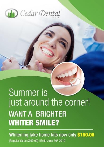 Cedar Dental Website Promo